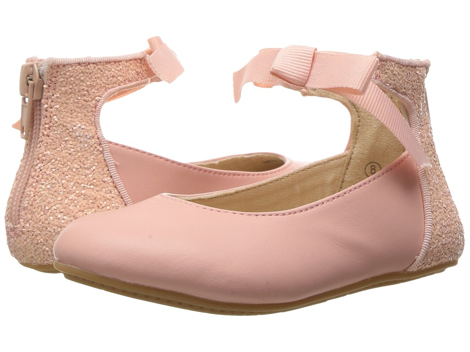 Yosi Samra Kids - Miss Suzy (Toddler/Little Kid/Big Kid) (Seashell Pink) Girls Shoes
