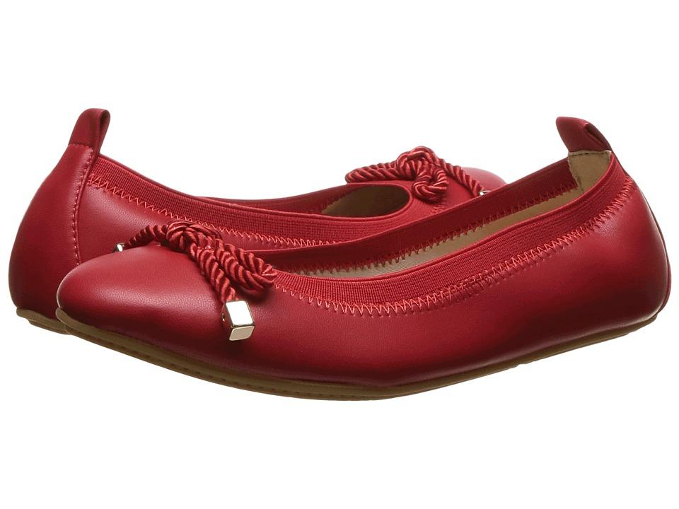 Yosi Samra Kids - Miss Sandrine (Toddler/Little Kid/Big Kid) (Engine Red) Girls Shoes