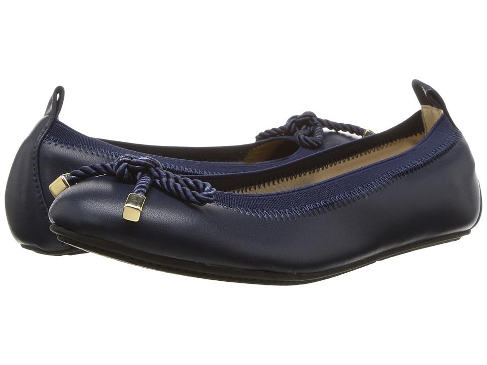 Yosi Samra Kids Miss Sandrine (Toddler/Little Kid/Big Kid) (Navy) Girls Shoes