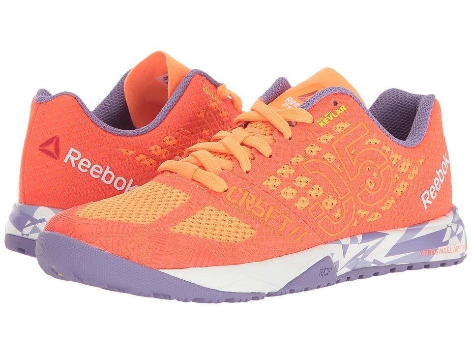 Reebok Kids - Crossfit Nano 5.0 (Big Kid) (Electric Peach/Atomic Red) Girls Shoes
