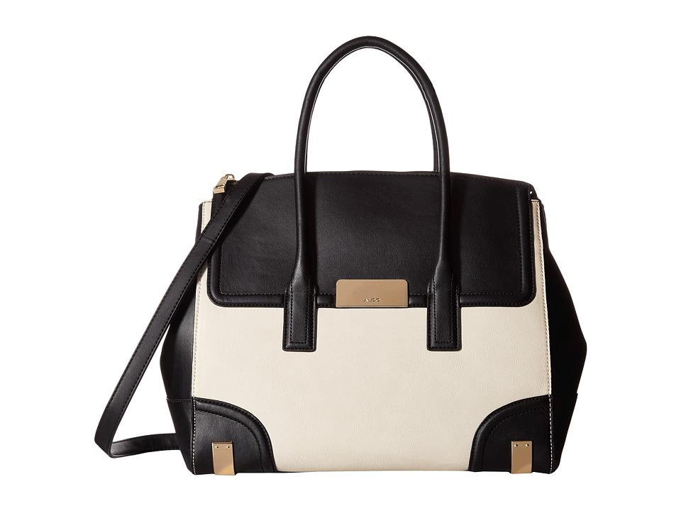 ALDO - Piannelleto (Black/White) Handbags