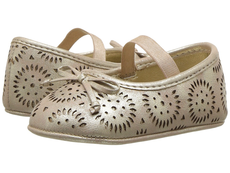 Jessica Simpson Kids - Salsa (Infant/Toddler) (Gold) Girl's Shoes