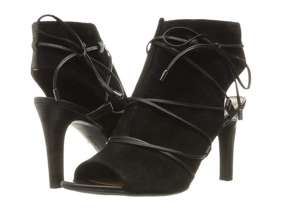 Franco Sarto - Quinera (Black Suede) High Heels