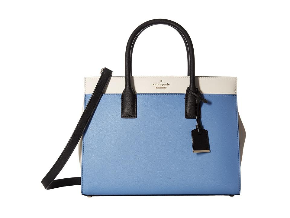 Kate Spade New York - Cameron Street Candace (Tile Blue Multi) Satchel Handbags