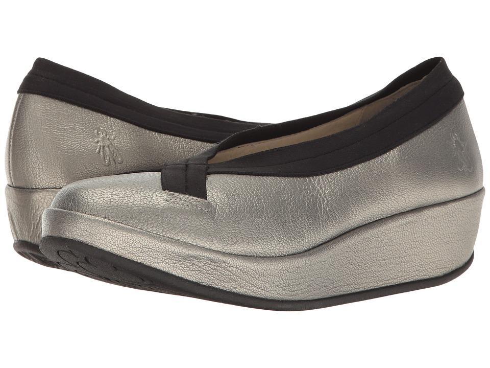 FLY LONDON - Bobi (Lead Borgogna) Women's Shoes