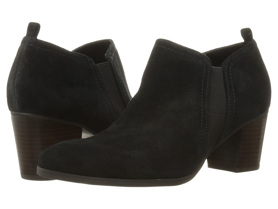 Franco Sarto Banner (Black Velour Suede) Women