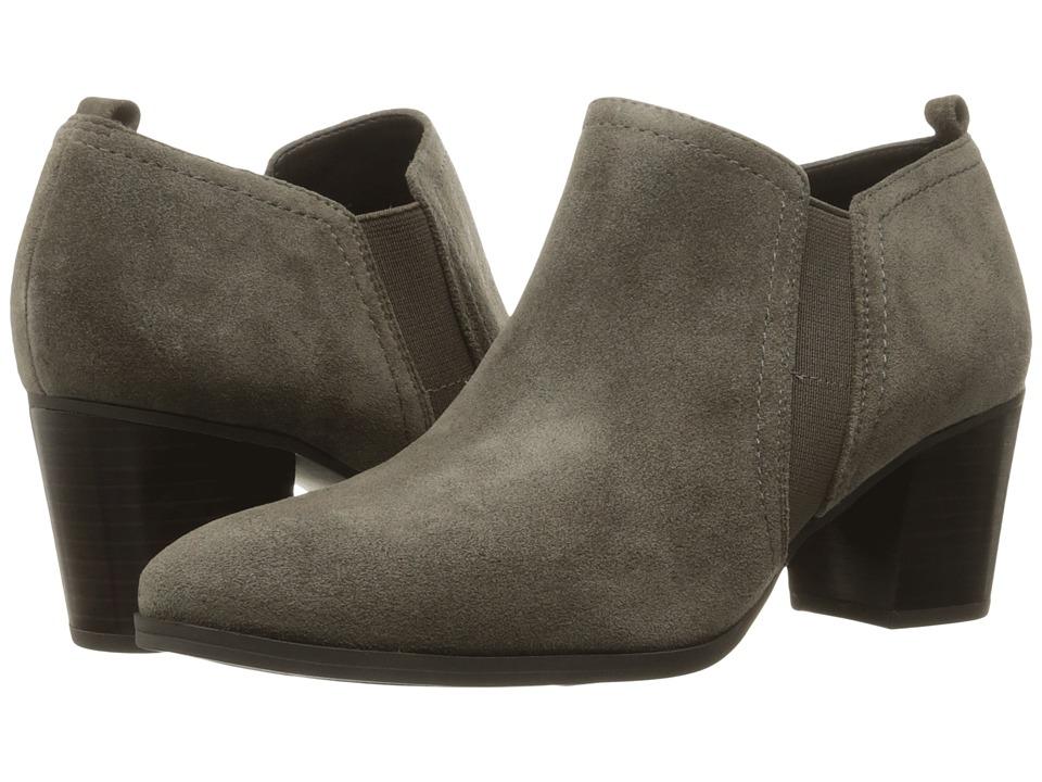 Franco Sarto - Banner (Nimbus Grey Velour Suede) Women's Boots