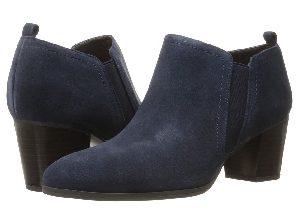Franco Sarto - Banner (Twilight Navy Velour Suede) Women's Boots