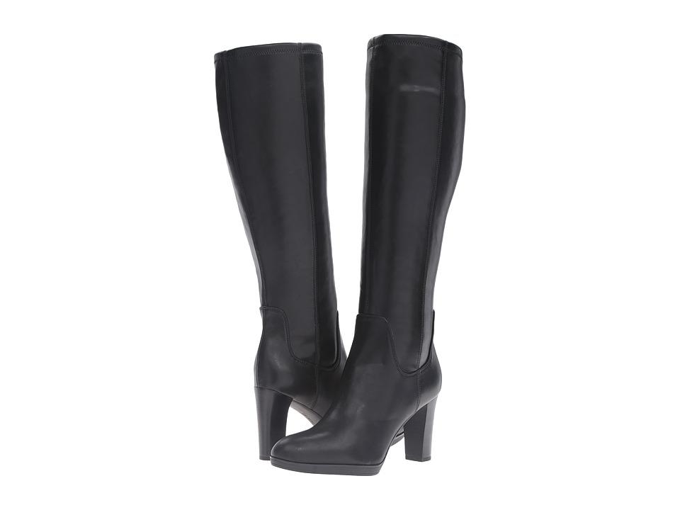 Franco Sarto - Ilana (Black Stretch) Women's Boots