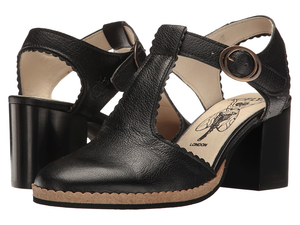 FLY LONDON - Cade04Fly (Black Mousse) Women's Shoes