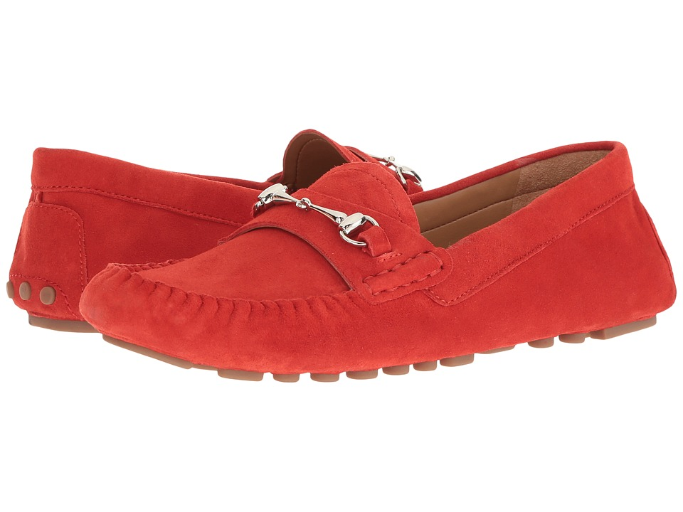 Franco Sarto - Galatea (Hibiscus Red Suede) Women's Shoes