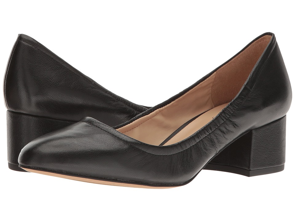 Franco Sarto - Fausta (Black Leather) Women's Shoes