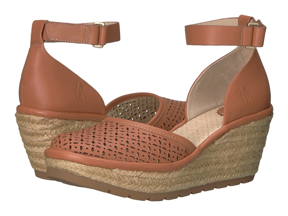 FLY LONDON - Etic970Fly (Tan Leather) Women's Shoes