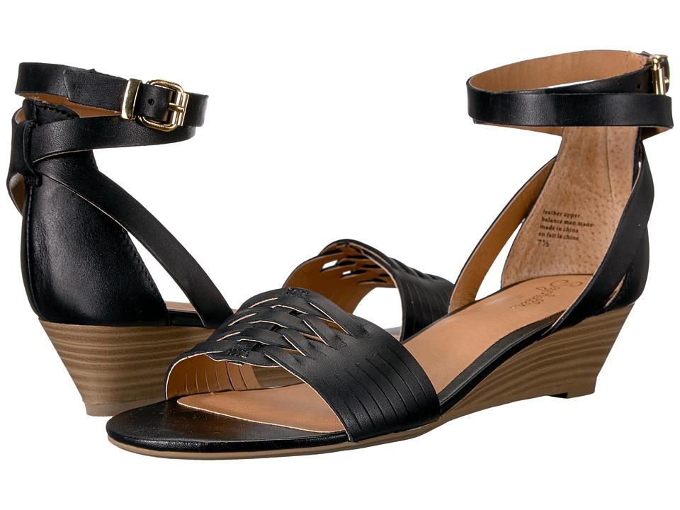 Seychelles Sincere (Black Leather) Women