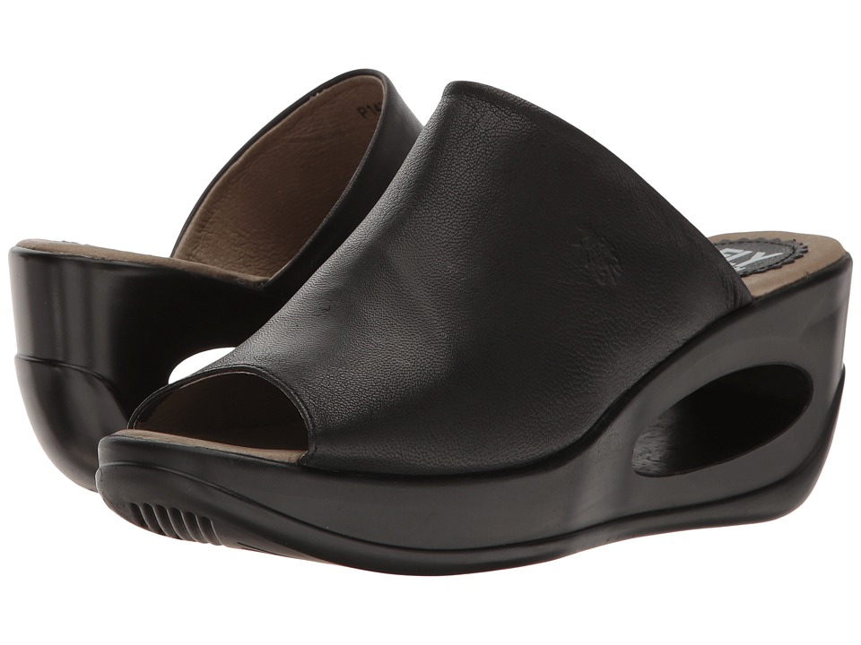 FLY LONDON - Hima868Fly (Black Mousse) Women's Shoes