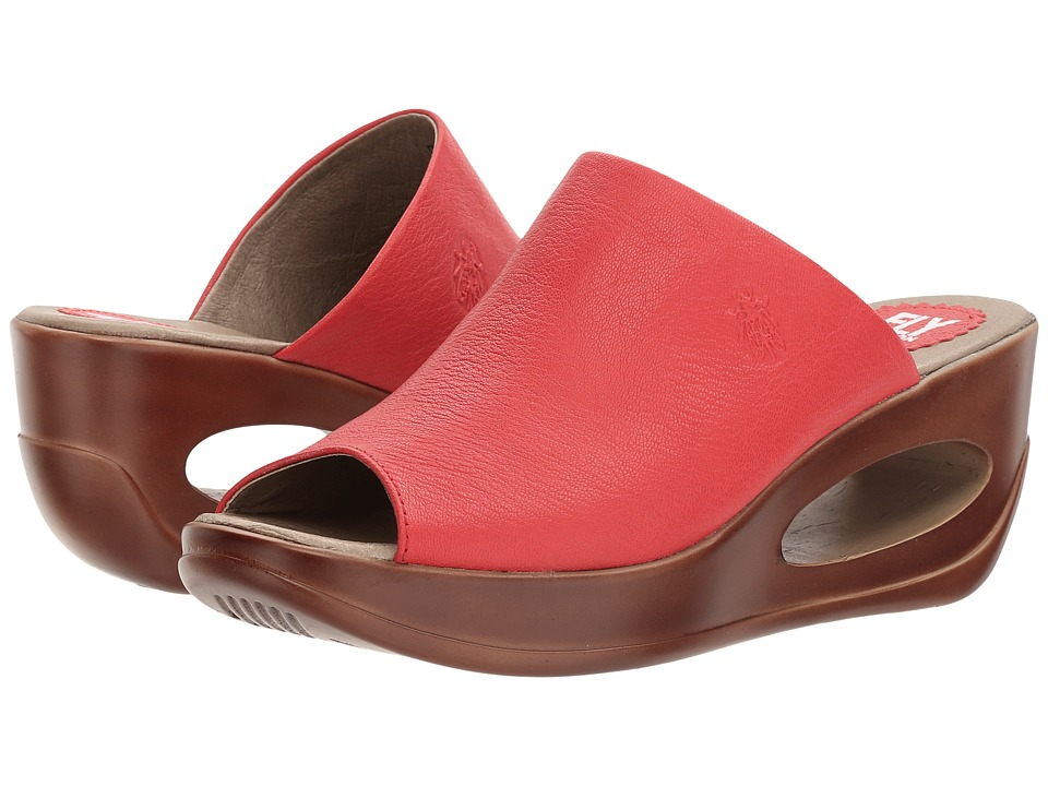 FLY LONDON - Hima868Fly (Scarlet Mousse) Women's Shoes