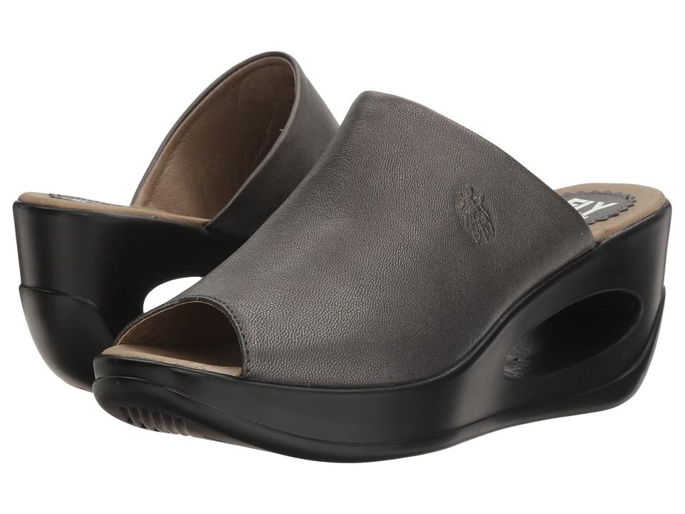 FLY LONDON - Hima868Fly (Graphite Borgogna) Women's Shoes