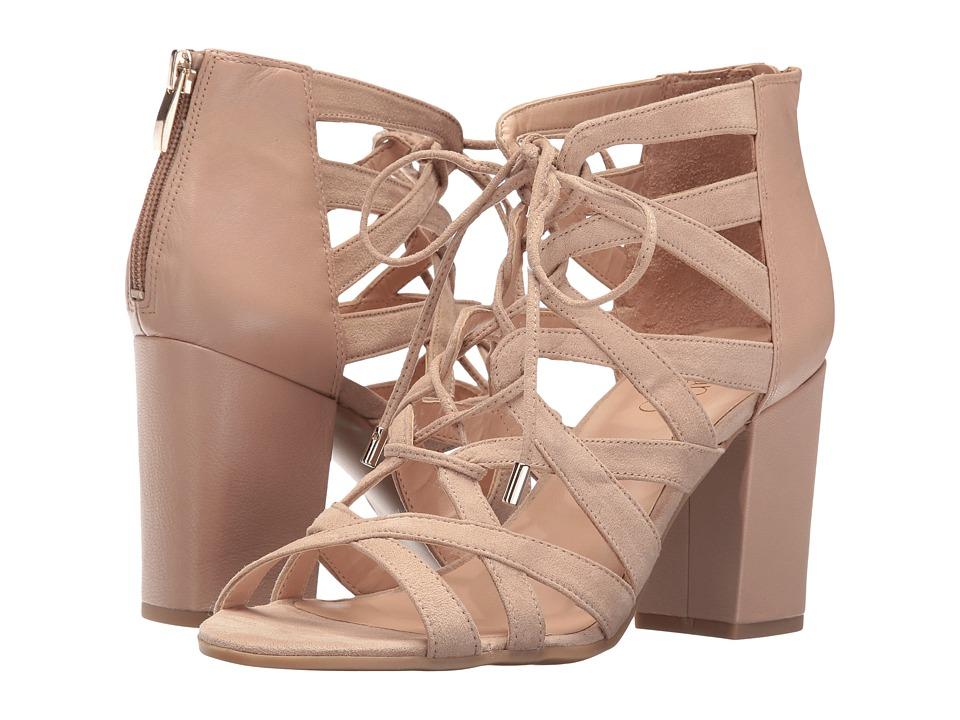 Franco Sarto - Meena (Pavillion Beige Leather/Microfiber) Women's Shoes
