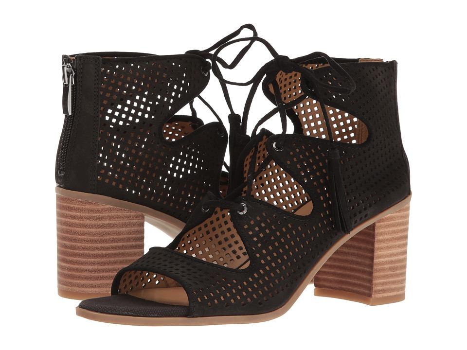 Franco Sarto Honolulu (Black Leather) Women