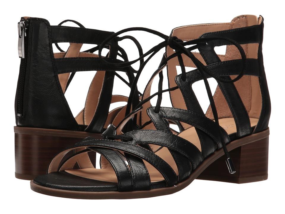 Franco Sarto - Ocean (Black Leather) Women's Shoes