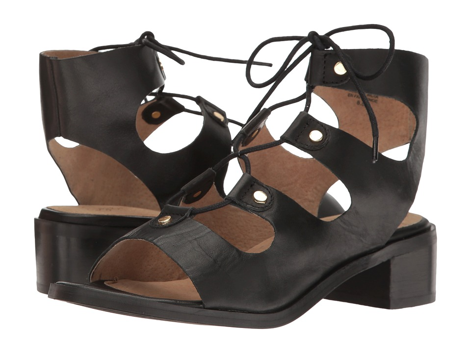 Seychelles - Love Affair (Black Leather) Women's Shoes