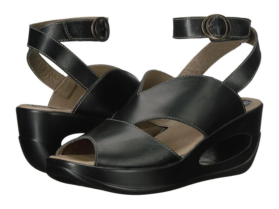 FLY LONDON - Hibo486Fly (Black Rug) Women's Shoes