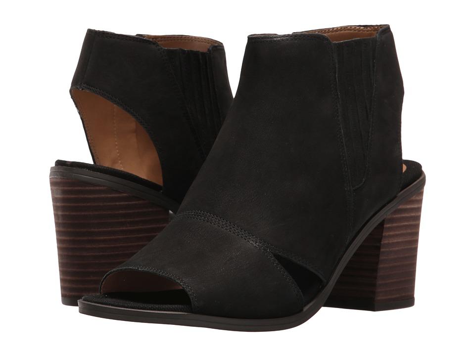 Franco Sarto Galaxy (Black Leather) Women