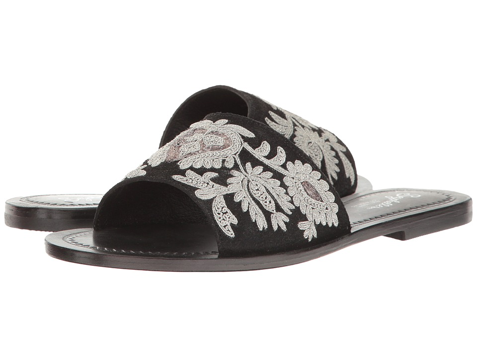 Seychelles - Under Control (Black) Women's Slide Shoes