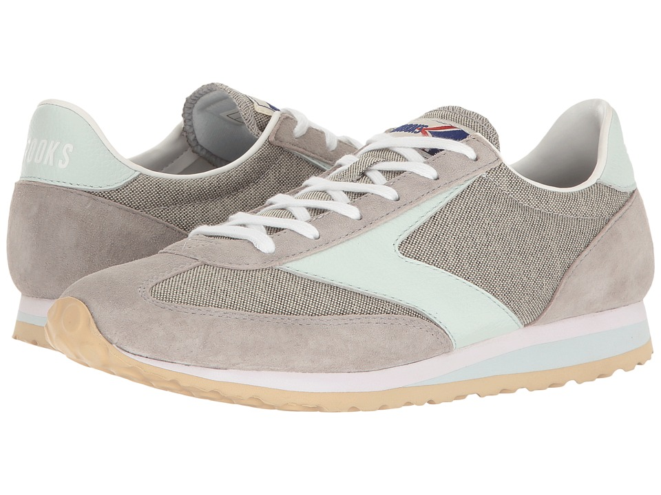 Brooks Heritage - Vanguard (Grey/Whispering Blue) Women's Shoes