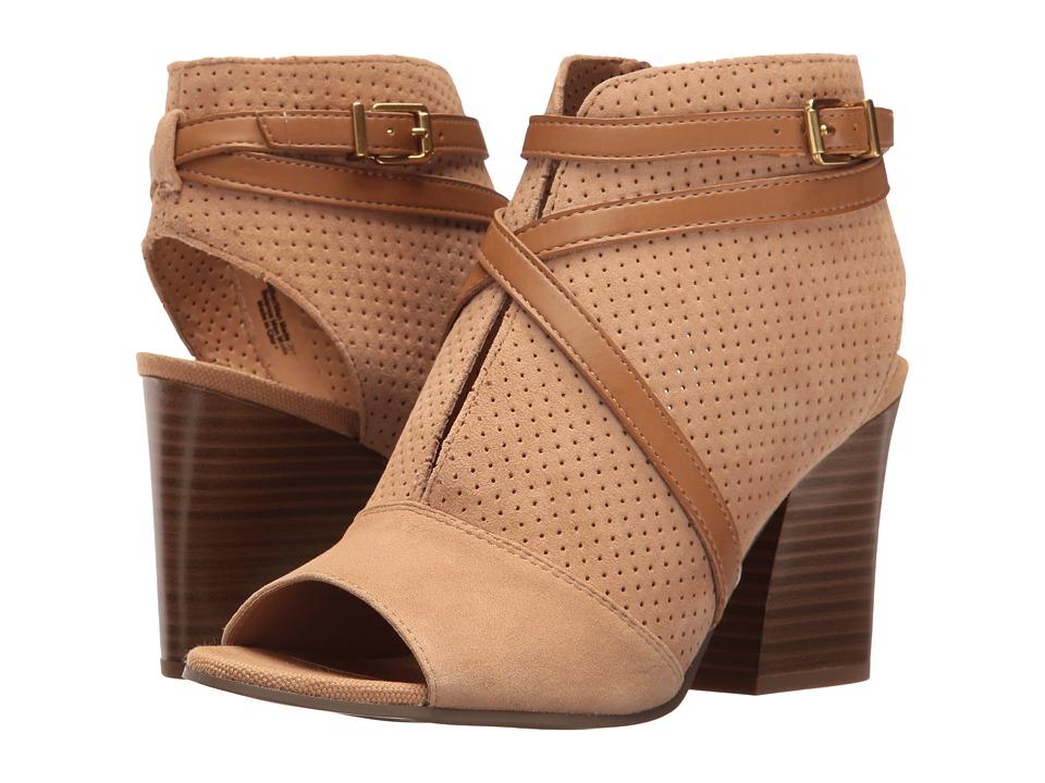 Franco Sarto - Fantana (Dark Camel Suede) Women's Boots