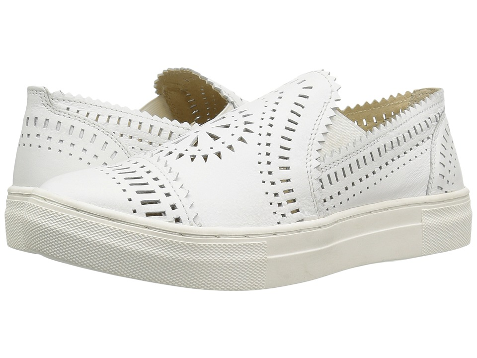 Seychelles - So Nice (White Leather) Women's Slip on Shoes