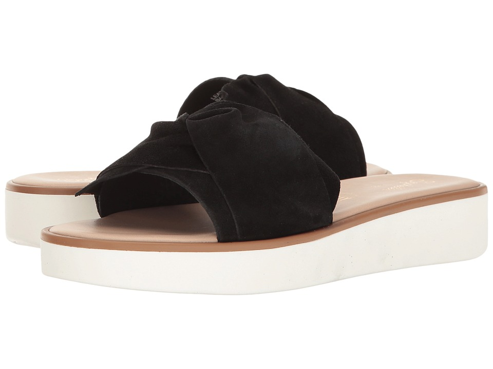Seychelles - Coast (Black) Women's Slide Shoes