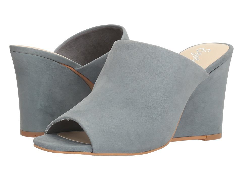Seychelles - Affirmation (Mid Blue Nubuck) Women's Clog/Mule Shoes