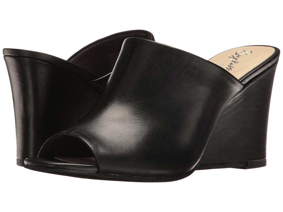 Seychelles - Affirmation (Black Leather) Women's Clog/Mule Shoes