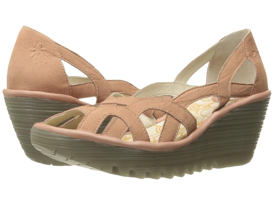 FLY LONDON - Yadi718Fly (Rose Cupido/Mousse) Women's Shoes