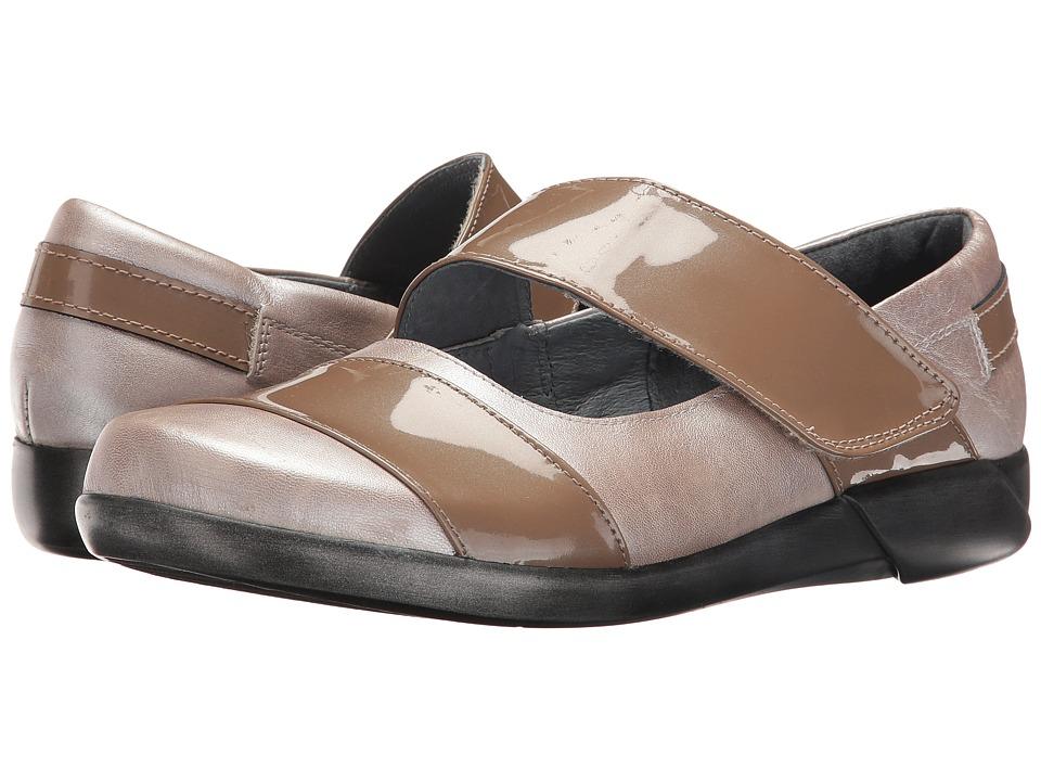 Naot Footwear Art (Quartz/Taupe Patent Combo) Women