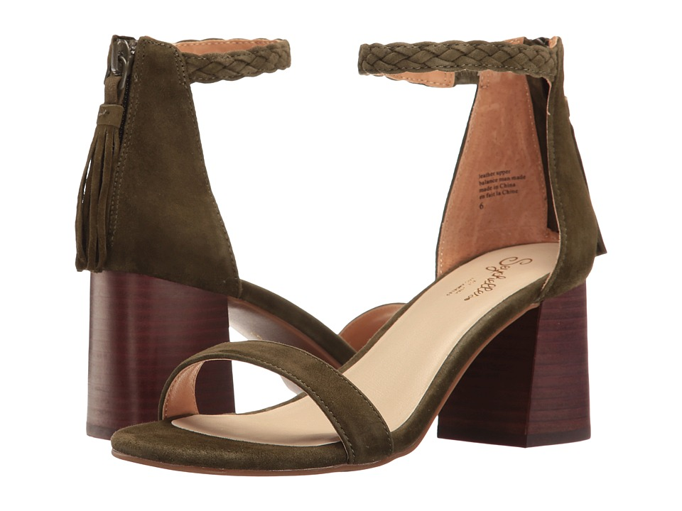 Seychelles Fury (Olive) High Heels