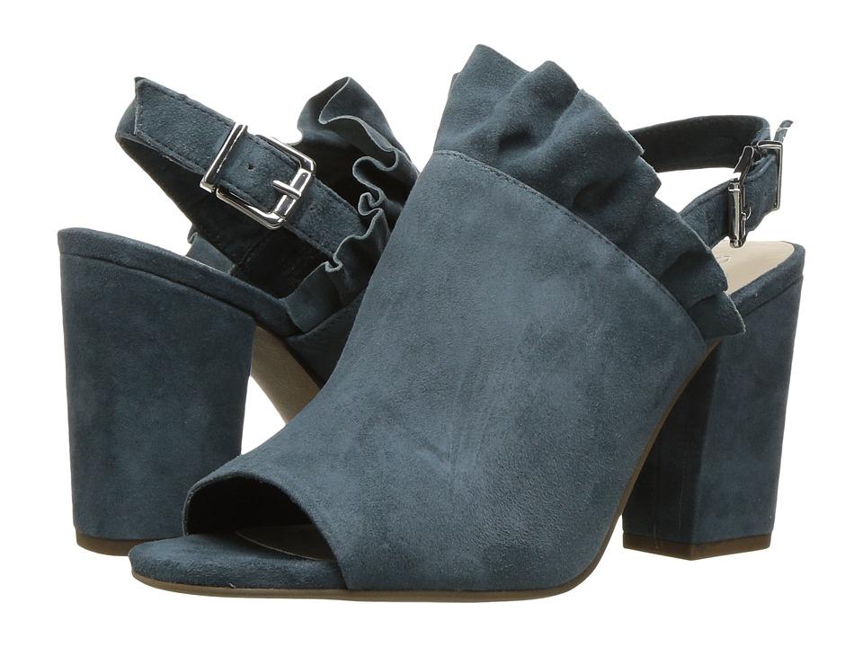 Seychelles - Sightseeing (Denim Blue) Women's Clog/Mule Shoes