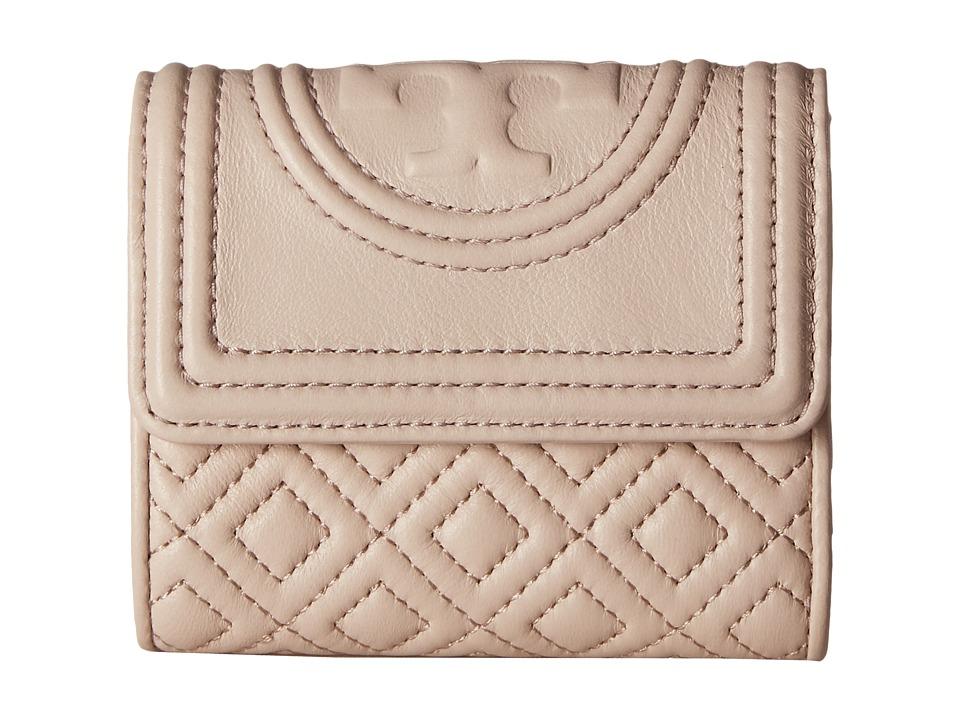 Tory Burch - Fleming Mini Flap Wallet (Bedrock) Wallet Handbags