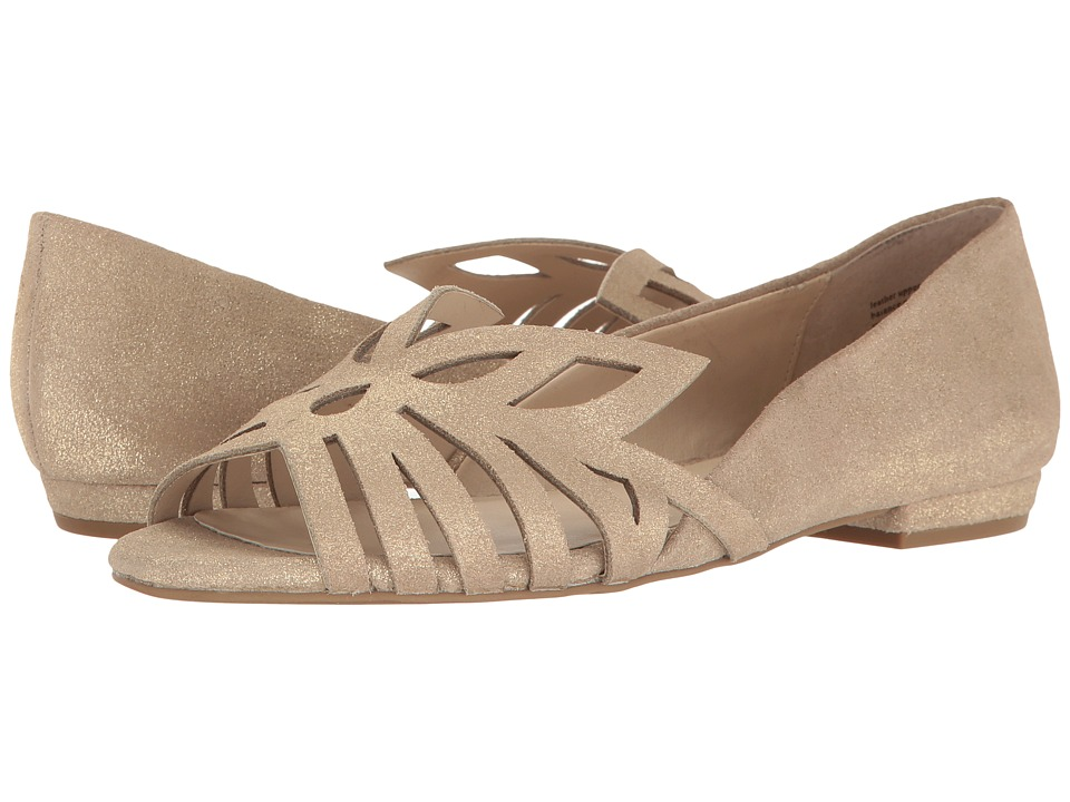 Seychelles - Purrfect (Gold Metallic Suede) Women's Sandals
