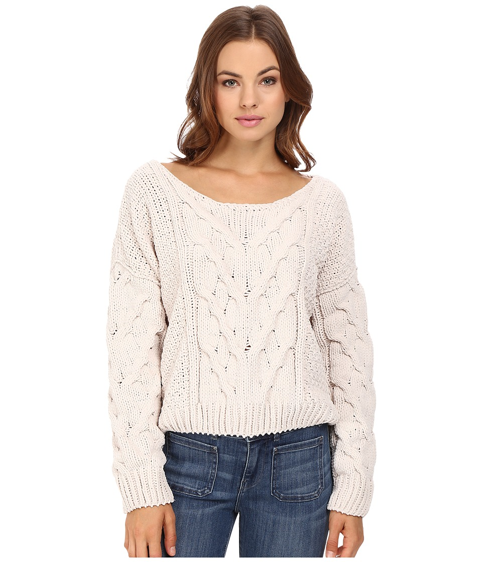 Free People - Sticks and Stones Pullover (Ivory) Women's Sweatshirt