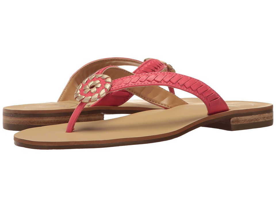 Jack Rogers - Ali (Bright Pink/Gold) Women's Shoes