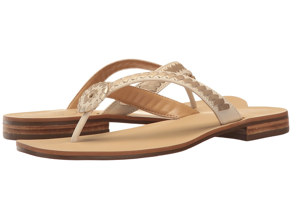 Jack Rogers - Ali (Bone/Gold) Women's Shoes