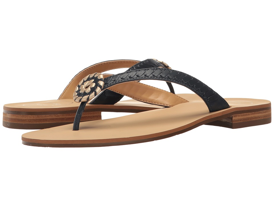 Jack Rogers - Ali (Midnight/Gold) Women's Shoes