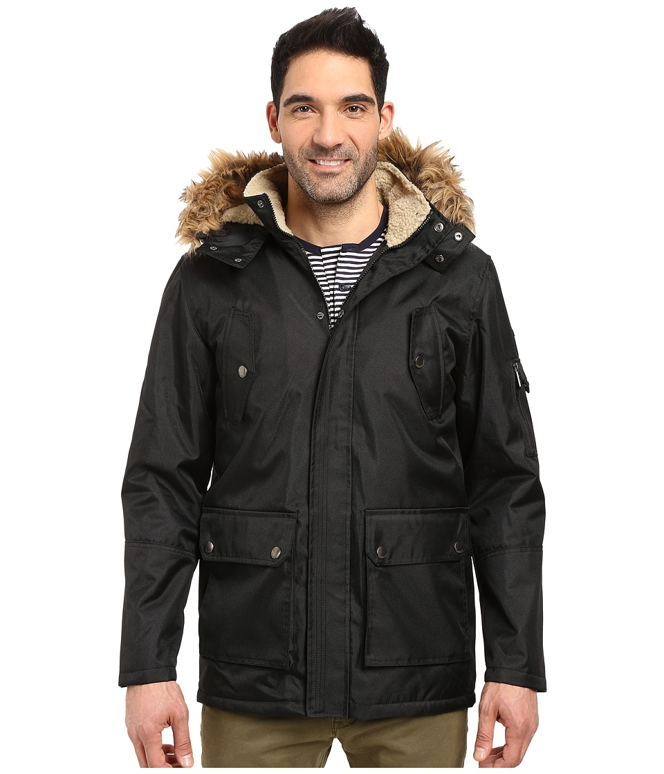English Laundry - Textured Field Jacket (Black) Men's Coat