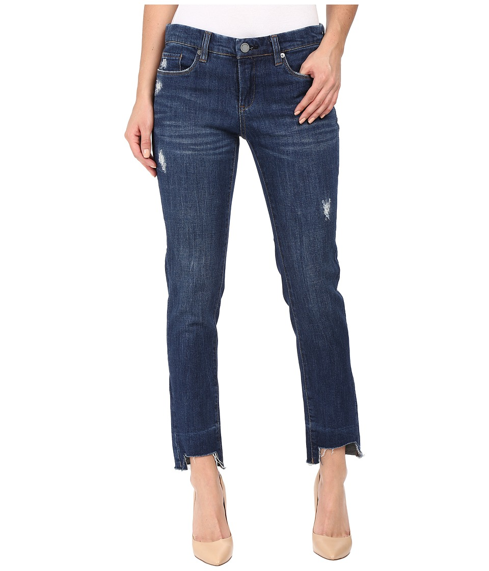 Blank NYC - Denim Distressed Skinny Released Hem Bottom in Amateur Hour (Amateur Hour) Women's Jeans