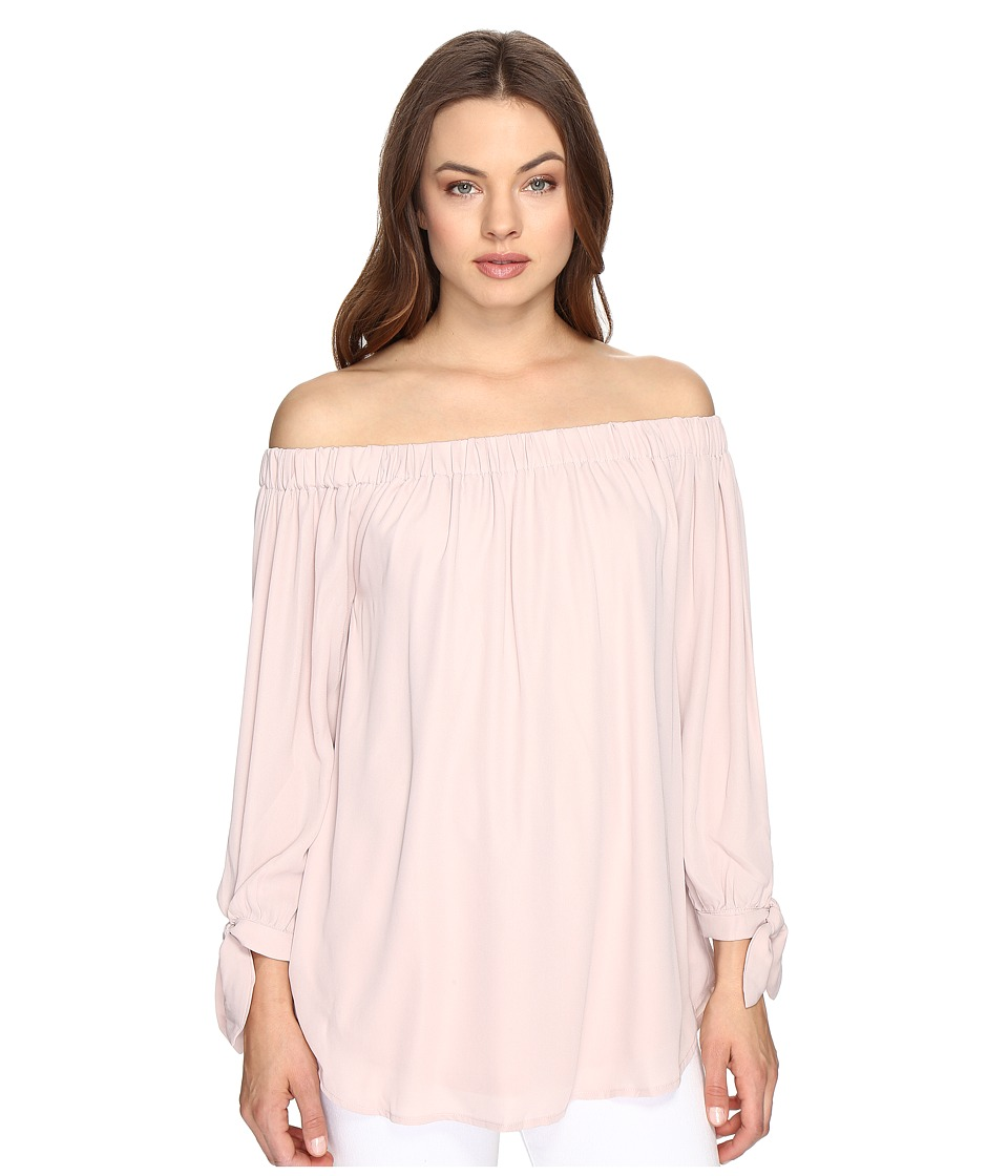Brigitte Bailey - Greta Off the Shoulder Top (Pink) Women's Clothing