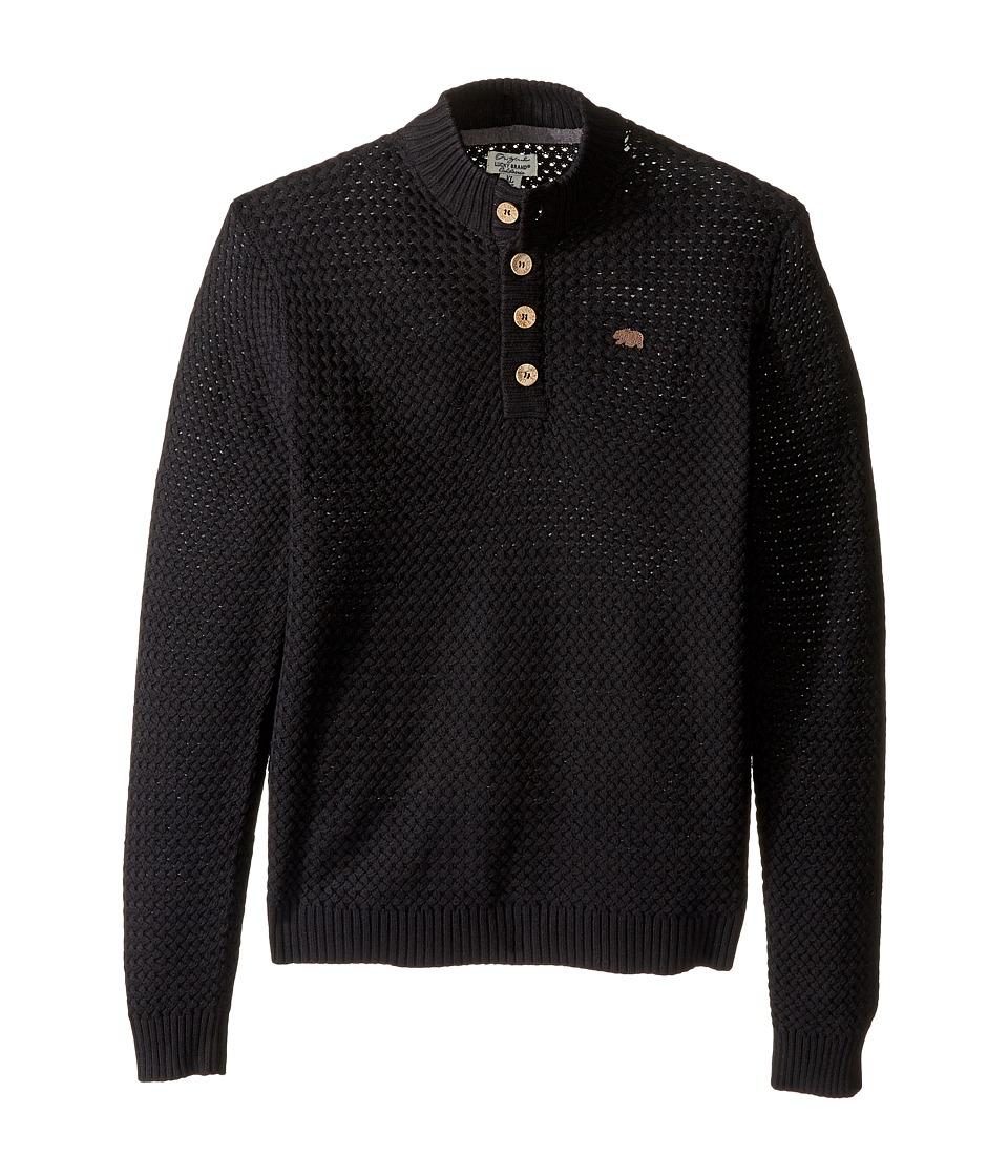 Lucky Brand Kids - Big Basket Sweater (Big Kids) (Black) Boy's Sweater