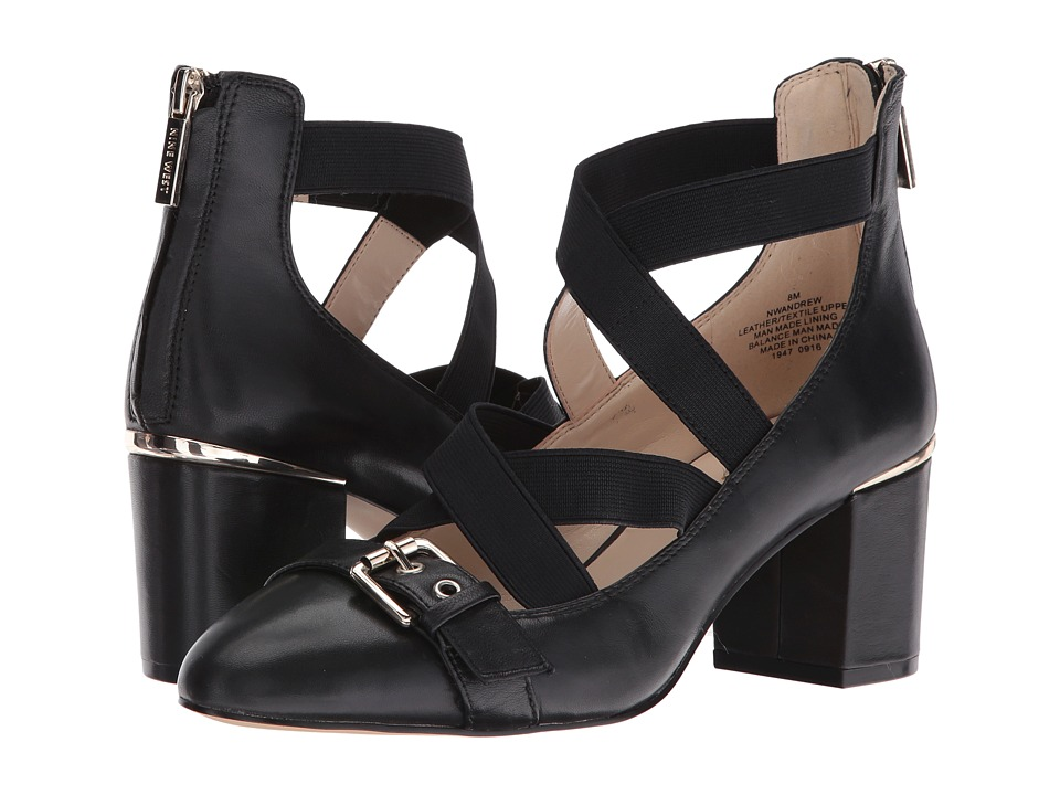 Nine West Andrew (Black/Black Sheep Sawara) Women