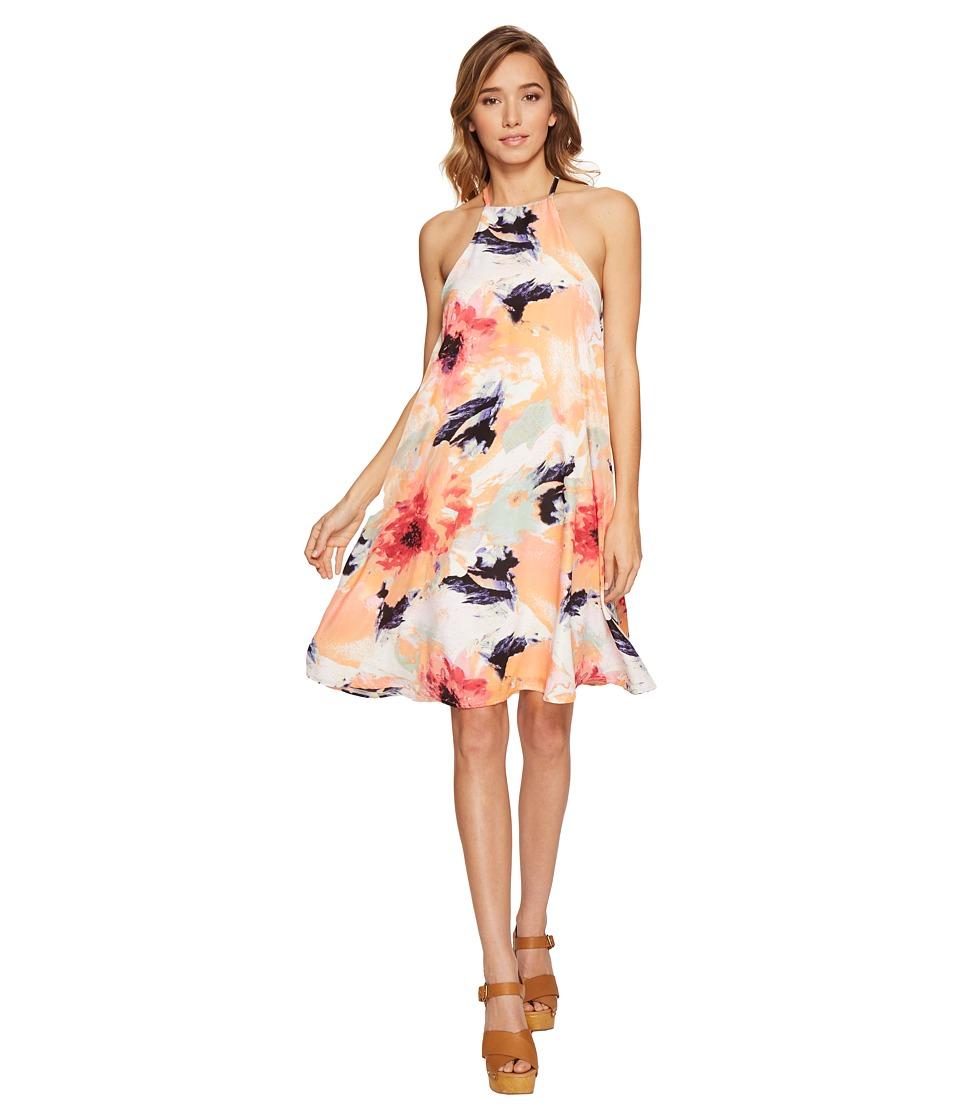 Brigitte Bailey - Ainslee High Neck Spaghetti Strap Dress (Multi) Women's Dress